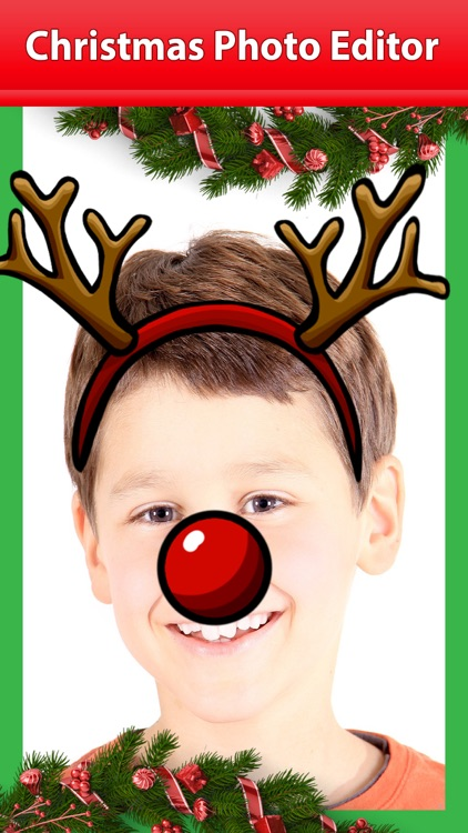Christmas Photo Editor – Free Pro Camera Sticker.s screenshot-3