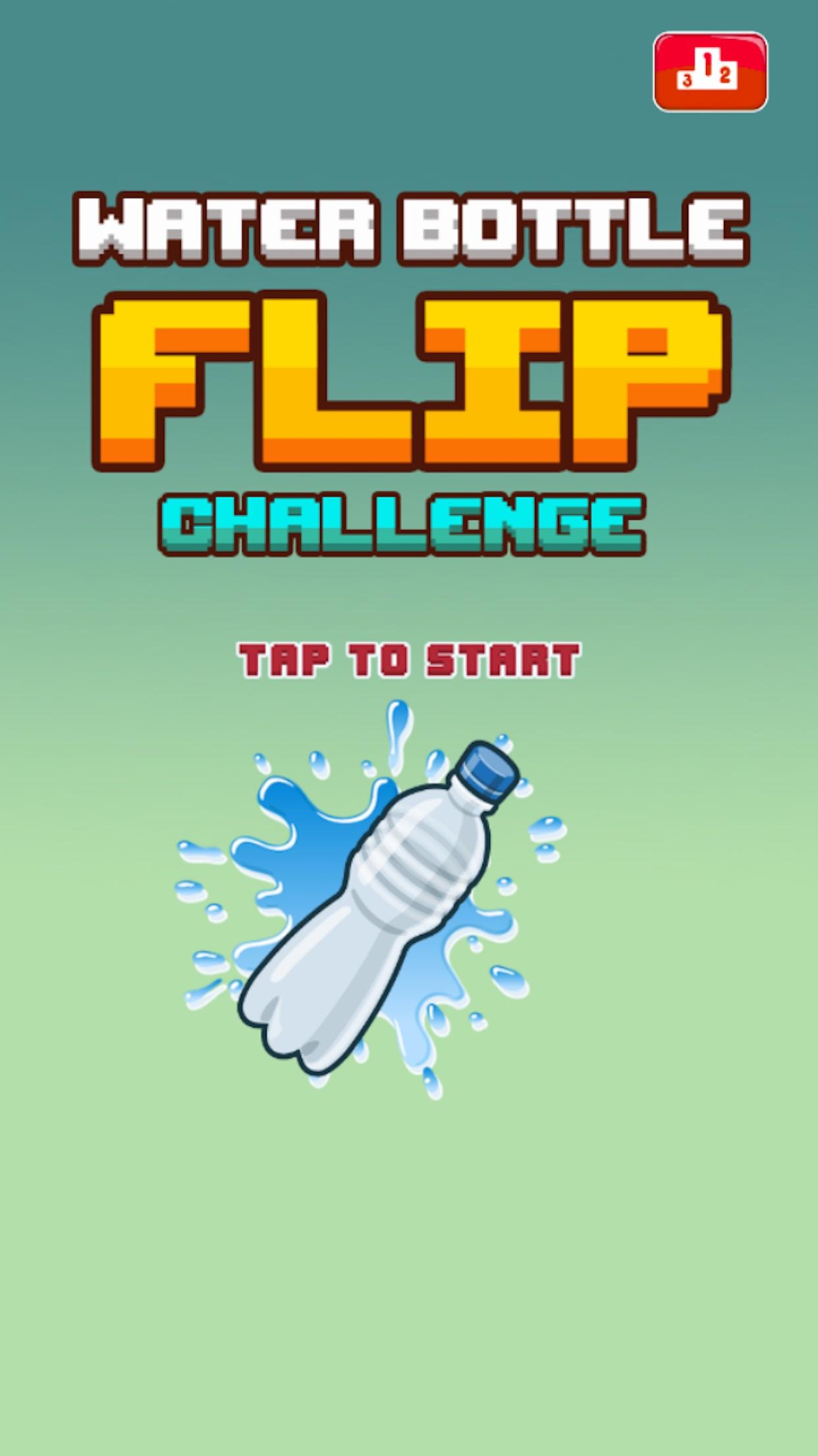 Water Bottle Flip Challenge Screenshot