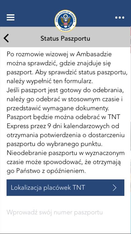 US Embassy Poland Mobile screenshot-3