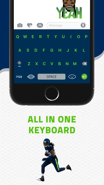 SHERMOJI - Official Richard Sherman Emoji Keyboard screenshot-3
