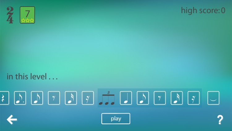 Musical Meter - Advanced: read music rhythm