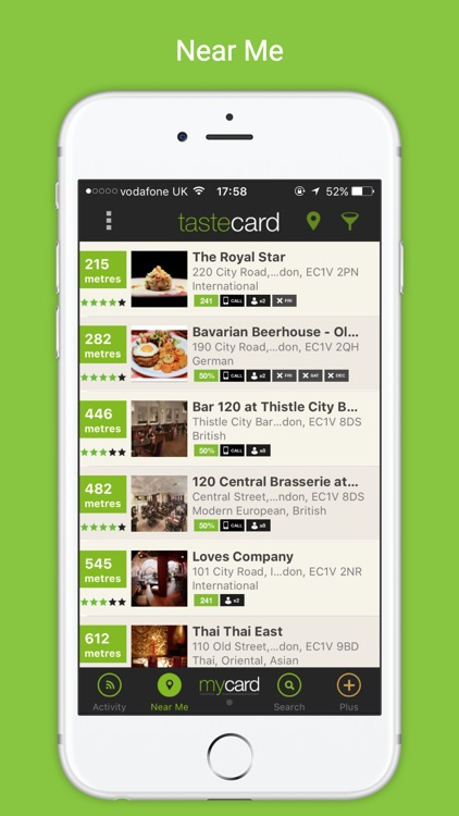 Tastecard | Restaurant Discounts | Dining Deals