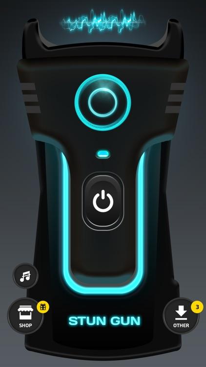 Prank Stun Gun App - Real Sound and Vibration! screenshot-3