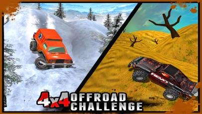 4X4 Offroad Challenge  - 3D Maximum Hill Climb Carのおすすめ画像4