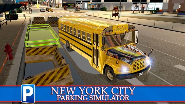New York City Car Taxi and Bus Parking Simulator