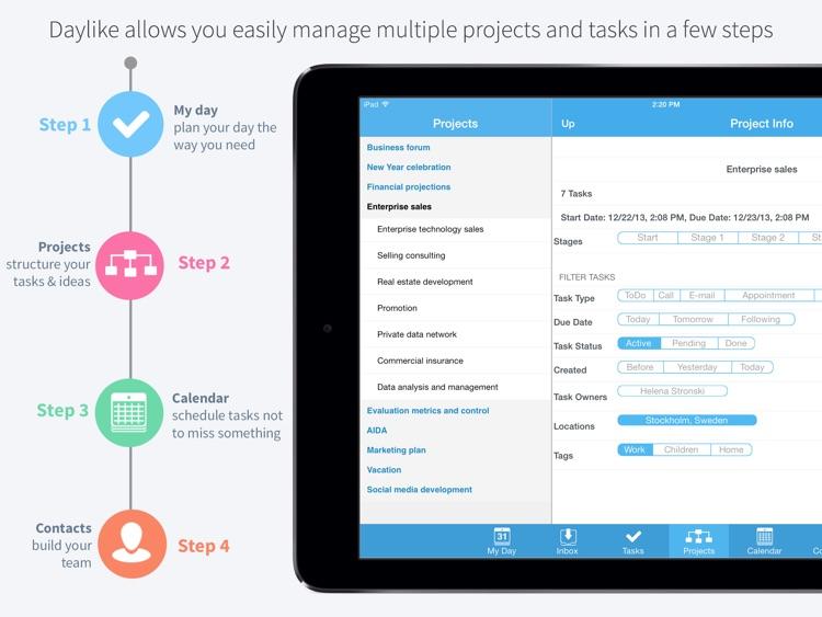 Daylike – task planner screenshot-0