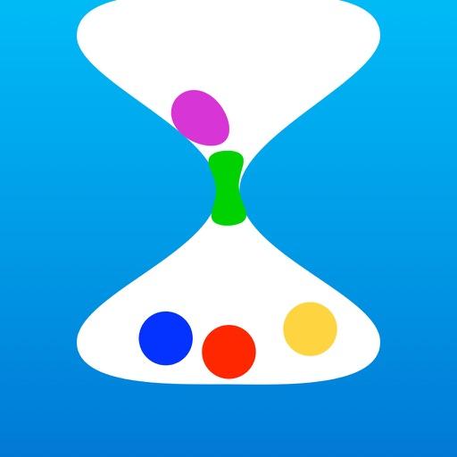 Color Time ~  10000 hours, time arrangement iOS App