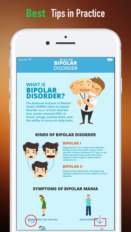 Bipolar Support and Self Help-Bipolar Disorder screenshot-3