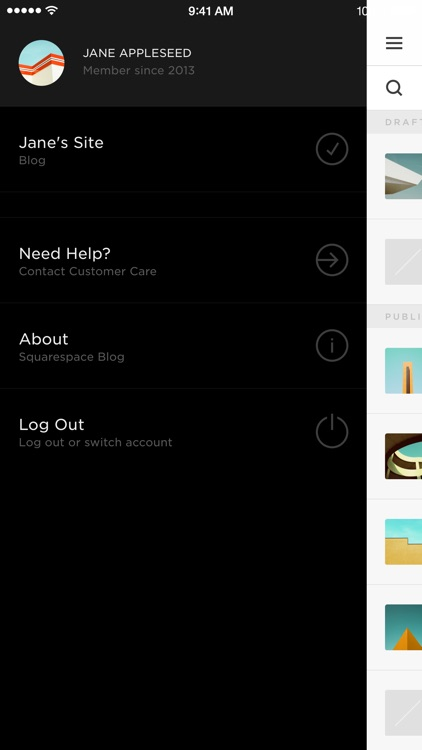 Squarespace Blog screenshot-3