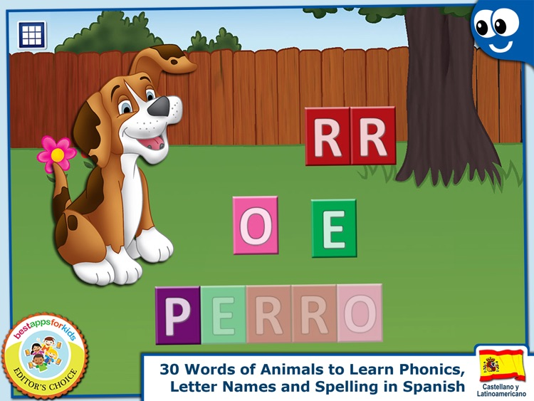 Spanish First Words Book and Kids Puzzles Box: Kids Favorite Activity Center in an Interactive Playing Room
