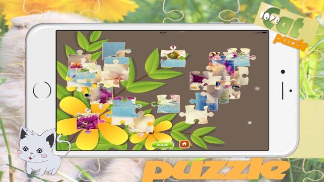 Foto puzle gatito puzzles para ni os peque os en app store - Puzzles para ninos pequenos ...