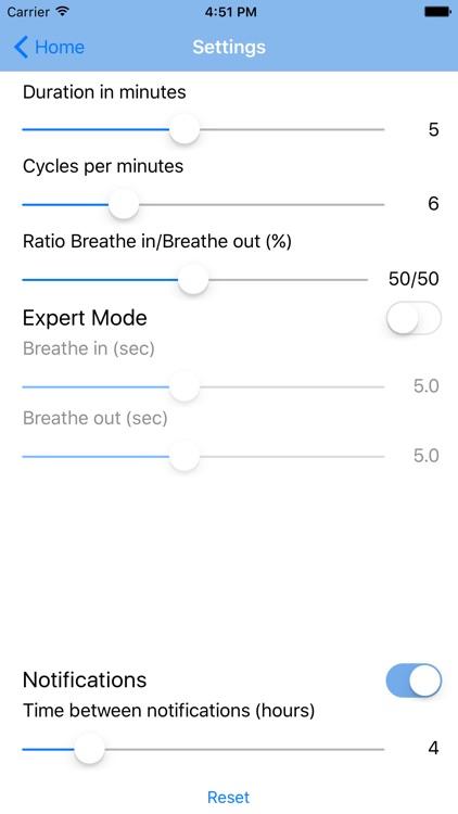 Cardiac Coherence screenshot-3