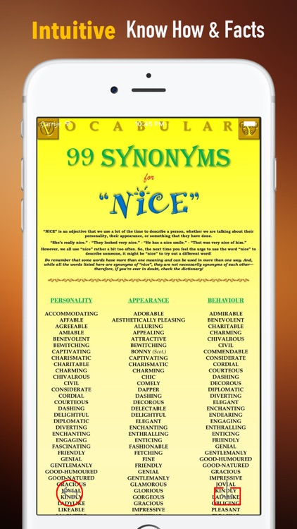 English Synonyms Dictionary and Flashcards Guide screenshot-0