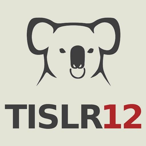TISLR12 2016