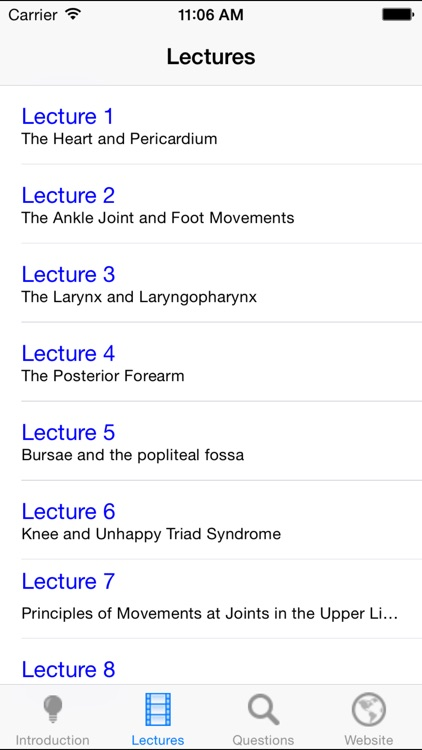 Anatomy Lectures and MCQs screenshot-4