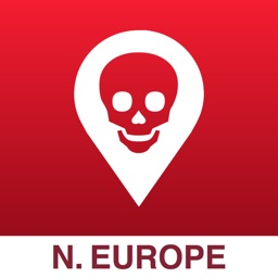 Poison Maps - Northern Europe