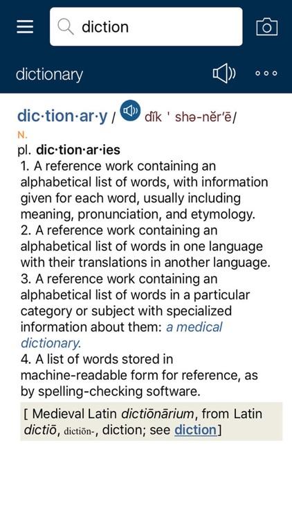 American Heritage English Dictionary & Thesaurus screenshot-4