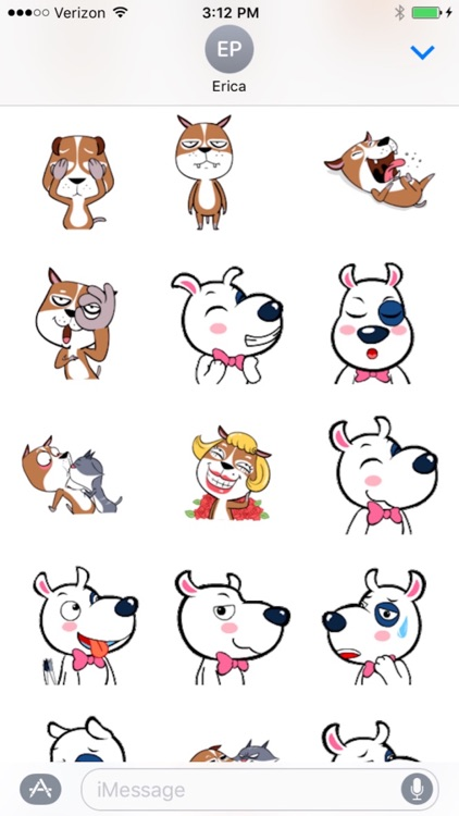 Animated Dog Emojis for iMessages