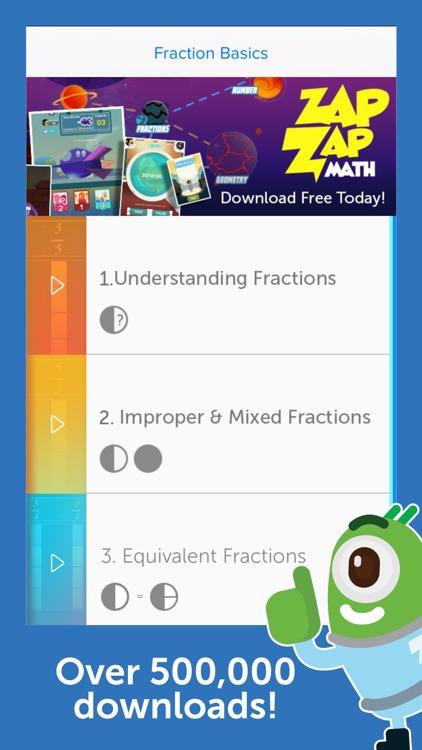Fraction Basics - Easy & Effective Fractions Tutor