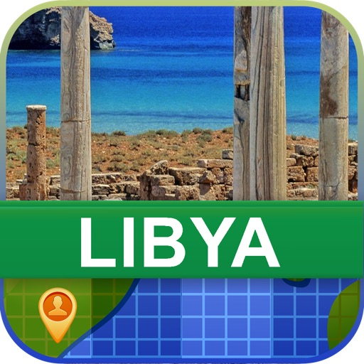 Offline Libya Map - World Offline Maps