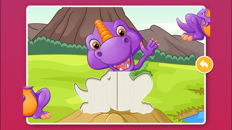 Kids Dinosaur Puzzle Games: Toddlers Free Puzzles screenshot-3