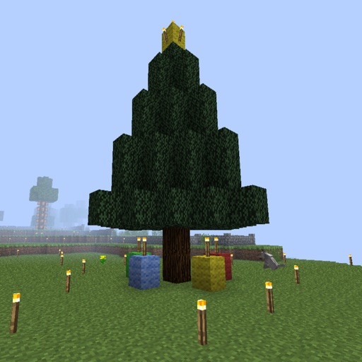 Minecraft Christmas Tree.Christmas Tree Guide For Minecraft By Phan Bich