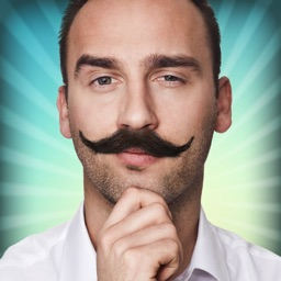 Mustache Me Funny Selfie Face Changer Photo Booth