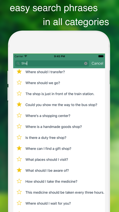 Speak Swahili - Learn Swahili Phrase & Words Screenshot on iOS