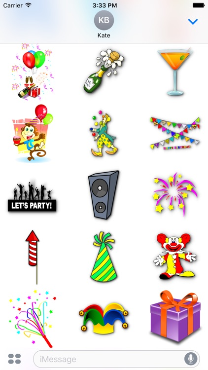 Happy Birthday • Stickers for iMessage screenshot-4