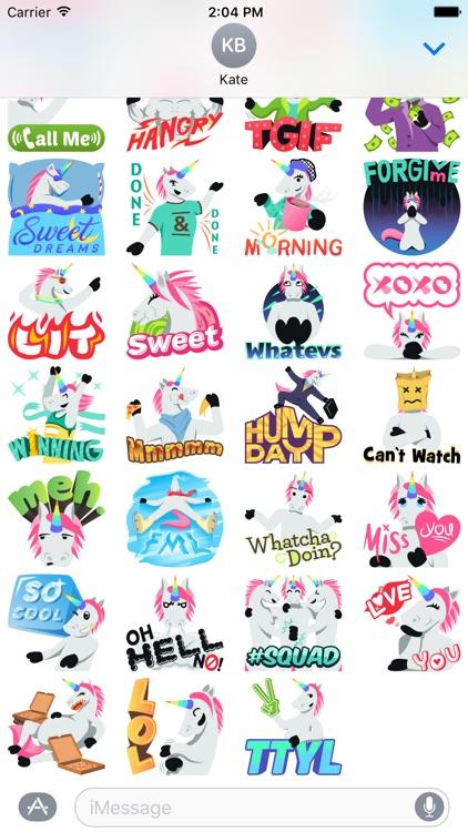 Unicorn Life: Emoji inspired stickers by EmojiOne™