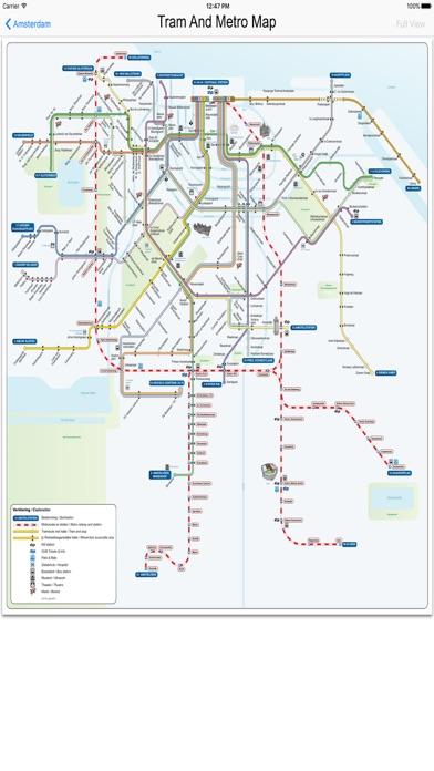 Subway Map Amsterdam.Amsterdam Metro Train Maps App Price Drops
