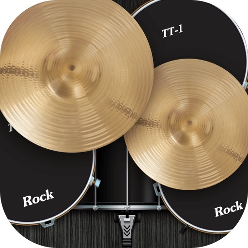 Real Drum Rock Kit