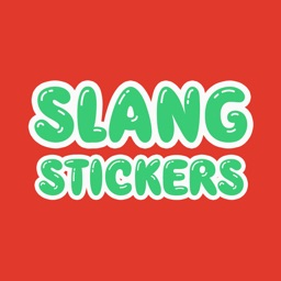 Slang Stickers - Say It Like You Mean It