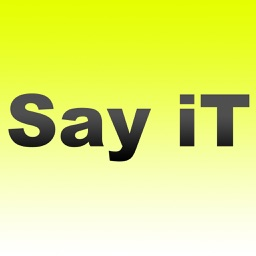 Say it - Stickers