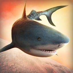 True Flying Shark World: The Wild Animal Simulator