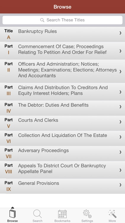 2015 Bankruptcy US Code screenshot-1