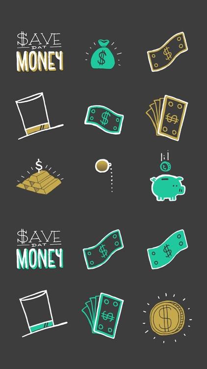 Richify! Money-themed stickers for iMessage screenshot-3