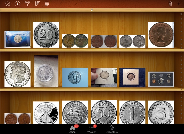 Coin Collectors for iPad