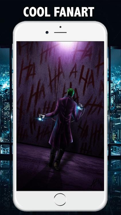Super Villain Squad Wallpaper for Joker Edition