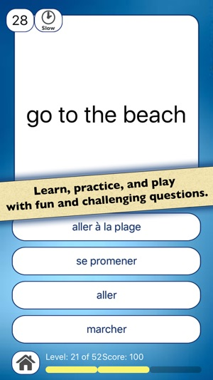 ‎French Vocabulary Practice
