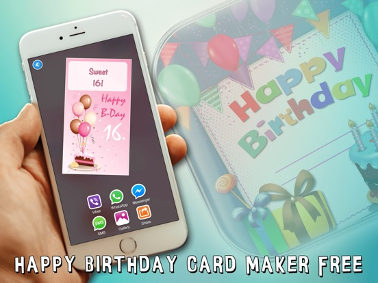 Happy Birthday Card Maker Free Bday Greeting Cards App Price Drops