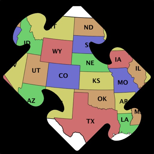 Map Puzzle USA