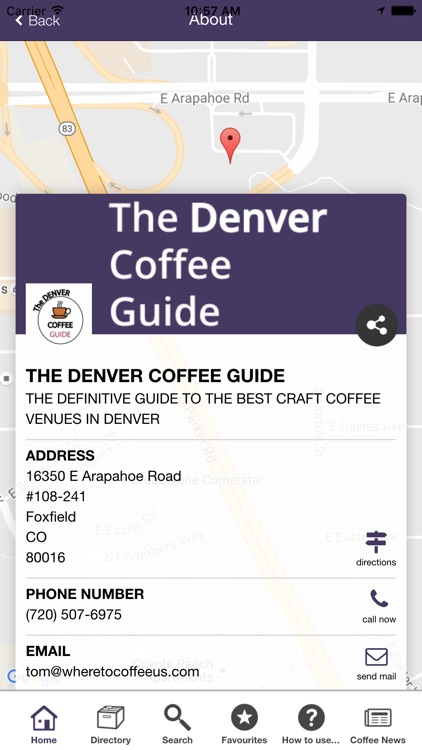 Denver Coffee Guide screenshot-3