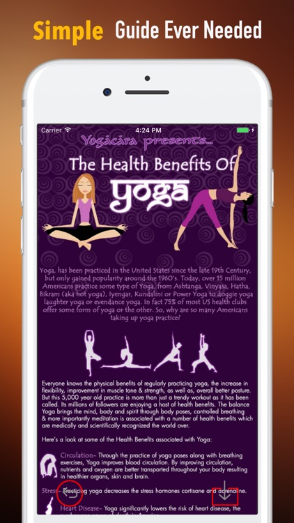 Hatha Yoga for Beginners-Video Tutorials and Guide screenshot-1