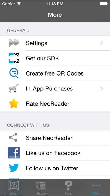 NeoReader®-QR&BarcodeScanner screenshot-4