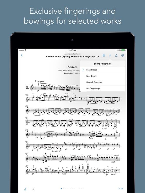 Henle Library – the Urtext score reader screenshot-4