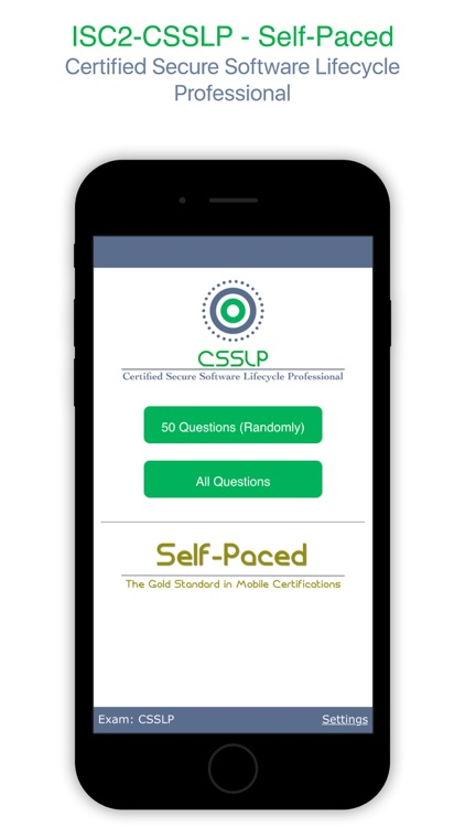 Csslp Certified Secure Software Lifecycle Professional Self