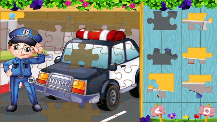 Puzzles for kids - Kids Jigsaw puzzles screenshot-4