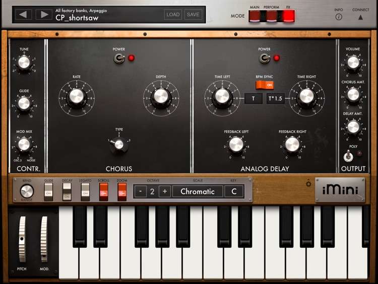 iMini Synthesizer screenshot-3