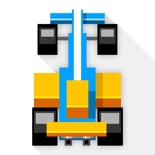 Speedy Road - endless 8-bit race